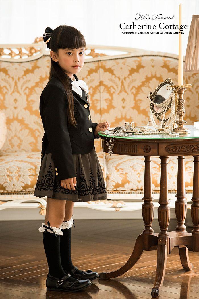 女の子スーツ 黒