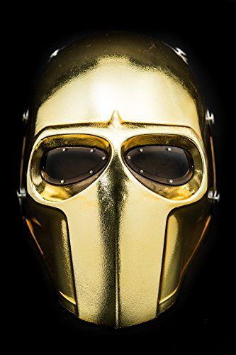 Invader King ® Gold Army of Two Airsoft Mask Protective Gear Outdoor Sport Fancy Party Ghost Masks Bb Gun INVADER KING http://www.amazon.com/dp/B00XF85IEM/ref=cm_sw_r_pi_dp_VMMxwb1E6JB25