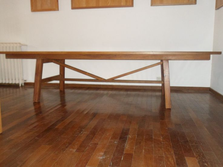 21 best images about mesas de madera para exterior on for Mesas de madera para exterior