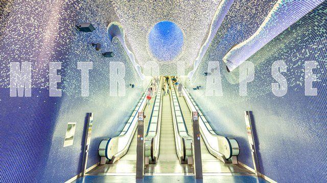 Невероятно красивые станции метро Неаполя
