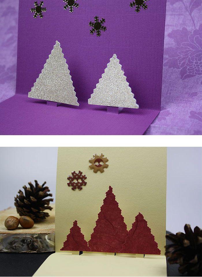 tolle und einfache klappkarte f r weihnachten https www. Black Bedroom Furniture Sets. Home Design Ideas