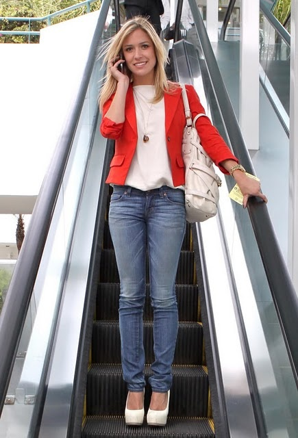 GORG red blazer + classic elements