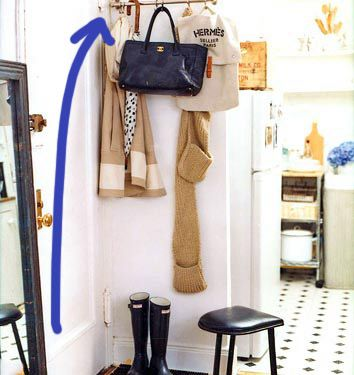 Coat Hanging Solutions 169 best home: entryway images on pinterest | coat racks, closet