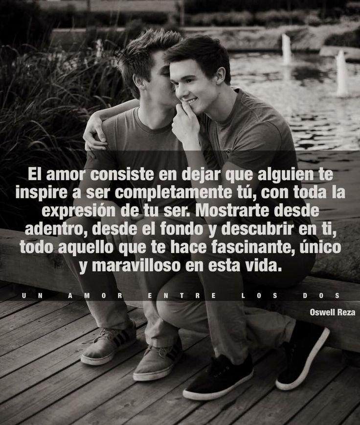 De eso se trata el amor, amar y ser amado.