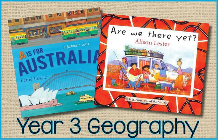 year 3 geography literature