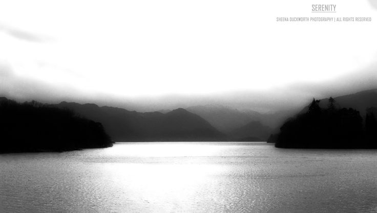 Scenery, Landscape, Lake, The Lake District, Water, Mountains, Mood, Moody, Atmosphere, Scenic, Dreamy, Sheena Duckworth Photography