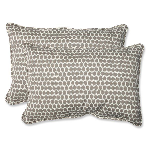 You Ll Love The Eris Indoor Outdoor Lumbar Pillow At Wayfair Great Deals On All Décor Pillows Products With Free Shipping On Most Stuff Even The Big Cojines