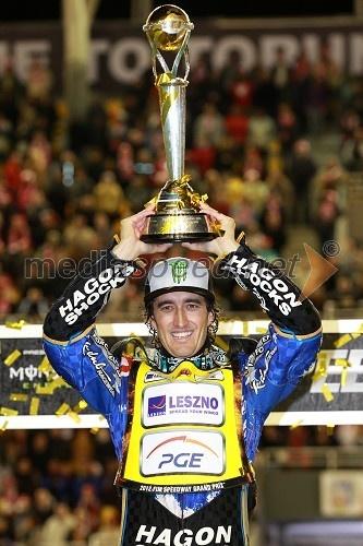 Speedway, Grand Prix 2012 Holder World Champion 2012 On photo:  Chris Holder