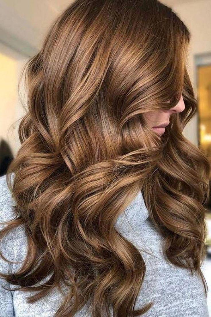 Good 48 Beautiful Chocoloate Brown Hair Shade Concepts #brownhairbalayage