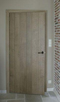 Landelijke deur