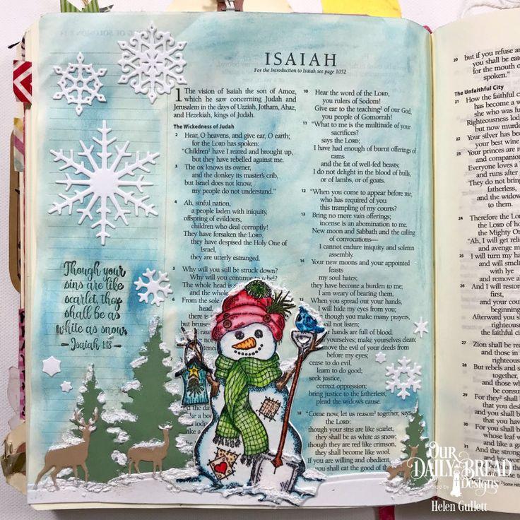 BAJ - Isaiah 1:18 by byHelenG - at Splitcoaststampers