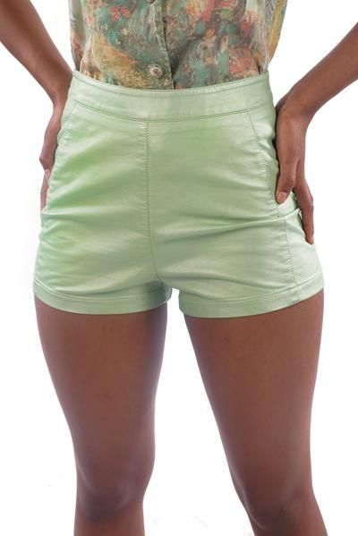 dec11885d6 ... Shorts - XS #faux #leather #mint #green #shorts #unicorn #tears #xd  #fashion #street #style #small #business #alternative #plus #size #vintage # urban ...