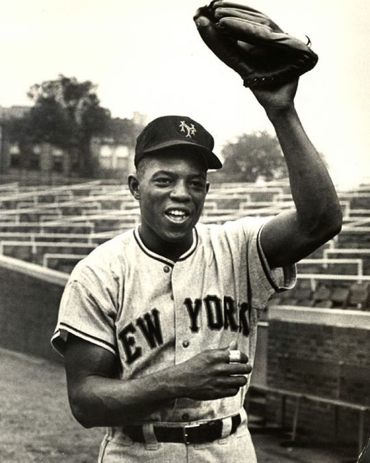 Willie Mays hit his 600th career home run on this day in 1969. He is pictured here when he played for the New York Giants in 1954.