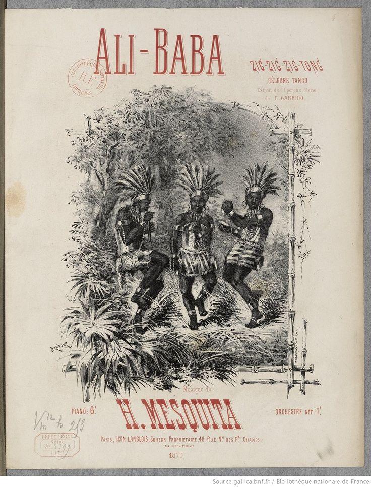 Ali-Baba. Zig-zig-zig-tong ; célèbre tango extraite de l'opérette-féerie..., musique de H. Mesquita | Gallica