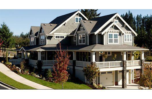 dream home - porches, garage, three levels, craftsman style