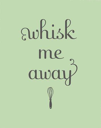 So cute! Whisk me away.