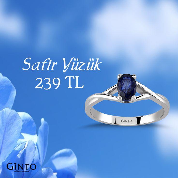 Sertifikalı Safir Yüzük Ürün Kodu🔎GNT331513  www.gintopirlanta.com  #gintopirlanta #pırlanta #safir #yuzuk #yüzük #safiryüzük #ring #saphire #diamond #sertifika #indirim #hediye #aşk #bağlılık #dürüstlük #mavi #mavitaş #değerlitaş #mücevher #kuyumcu #jewellery #güven #güvenlialışveriş