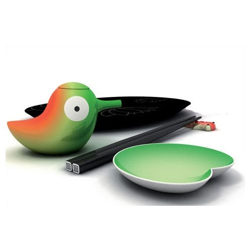 Found it at Wayfair - Lily Pond Sushi Set by Stefano Giovannoni