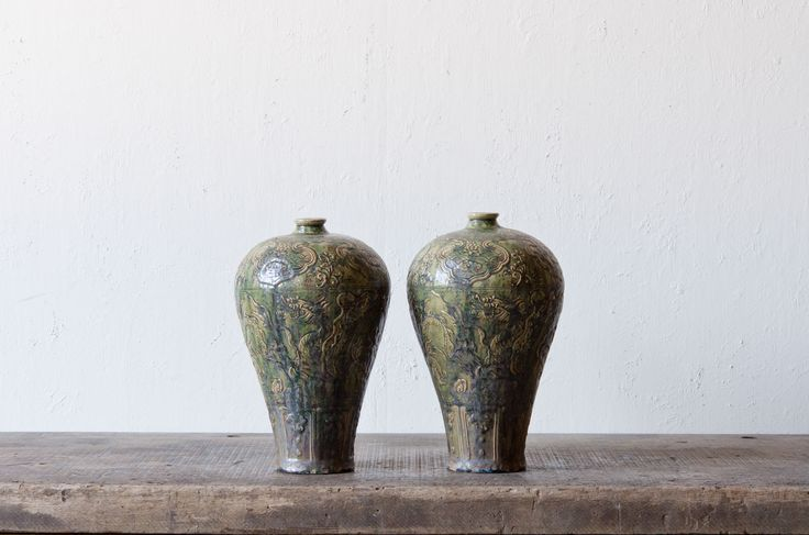 Four Hands Home Office Inspired By: A Green-Glazed Meiping Vase