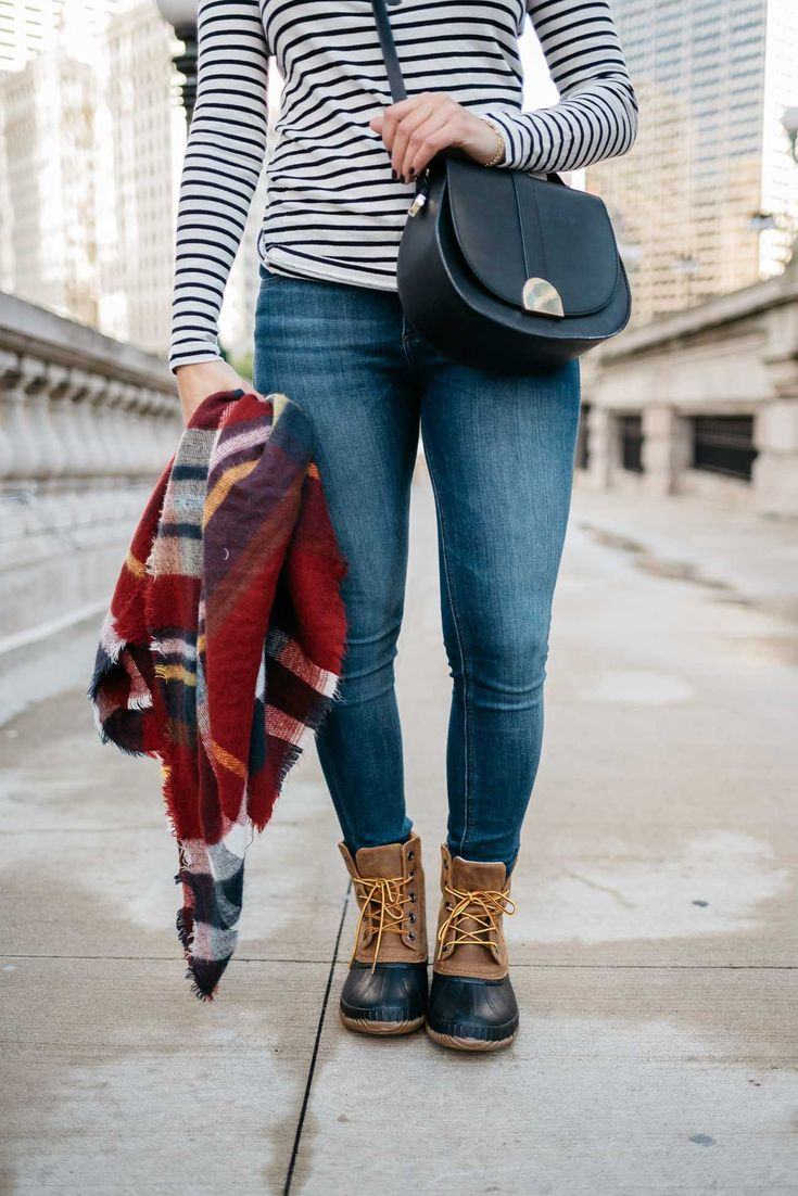 how to style SOREL boots, fall layered outfits, blanket scarf - My Style Vita @mystylevita @zappos