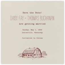 Paperless Post - Wedding - Save the Dates - Save the Date