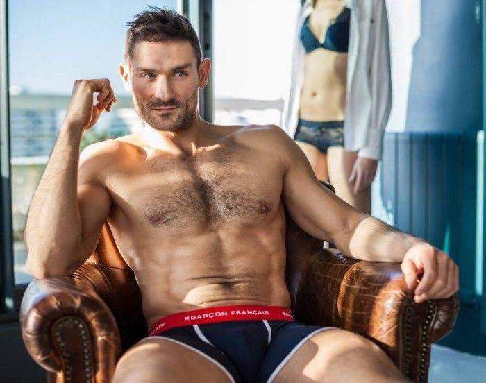 Matthieu Riffi & Greg Handlr: Garçon Français Underwear. Hot Summer 2014