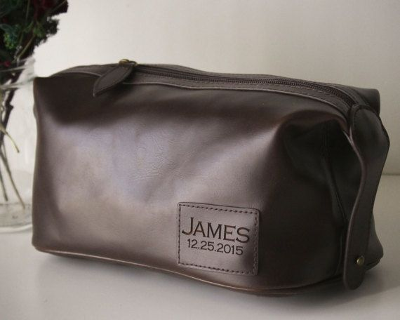 Personalized Groomsmen Gifts Mens Toiletry Bag Personalized. 25  best ideas about Men s Toiletry Bags on Pinterest   Men s
