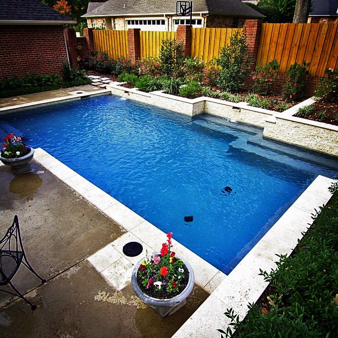 1000 images about straight line pools on pinterest for Pool design 1970