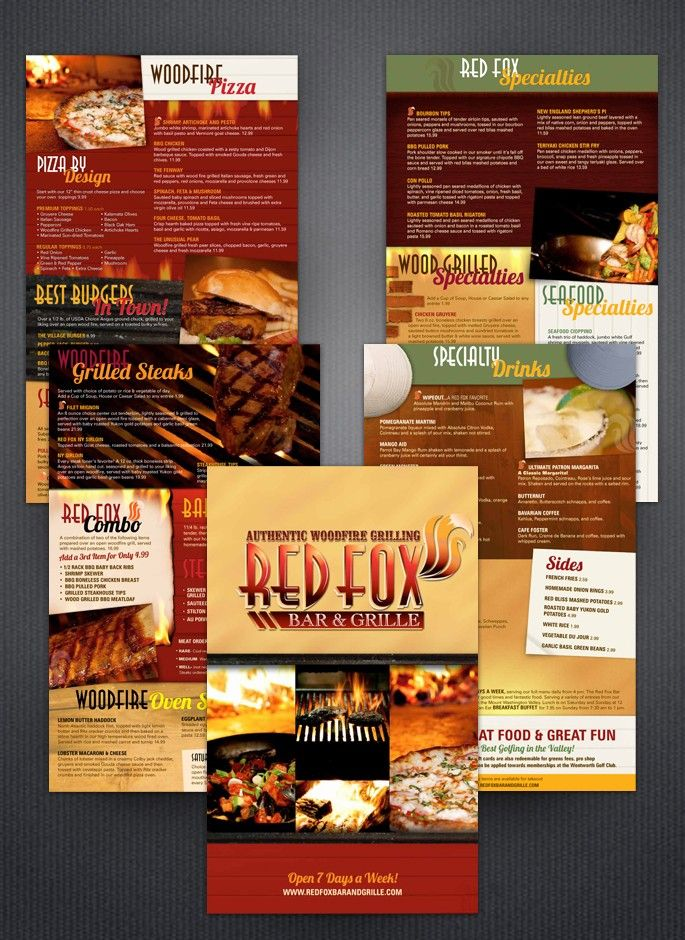 101 best restaurant menu designs images on pinterest