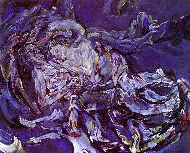 Bride of the Wind. Oskar Kokoschka.