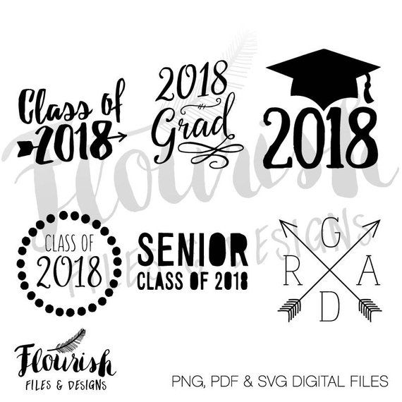 Class Of 2019 Hand Drawn Brush Gold Stripe And Number With Education Academic Cap Template For Gradu Class Of 2019 Congratulations Graduate How To Draw Hands