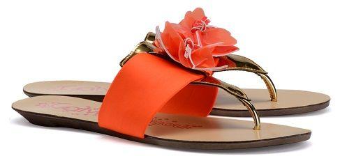 orange flower beach slipper by catwalk just for Rs. 999/- Shop Now