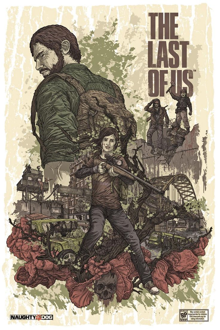 The Last of Us - This is probably one of the best if not the best games I ever  played. the studio Naughty Dog is also one of my favs, The story and the concept was greate