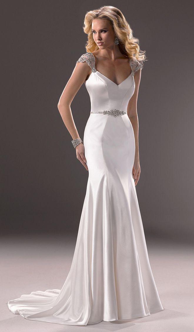 Spectacular Ettiene Wedding Dress by Maggie Sottero back