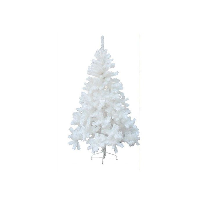 White Christmas Tree Xmas Decorations Artificial Trees Stand Holiday 6ft 1.8m | eBay