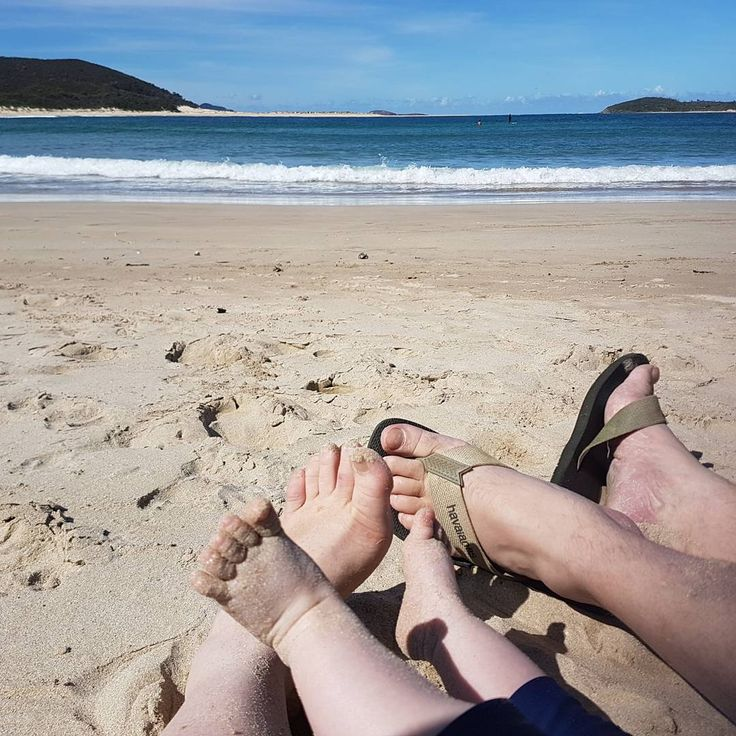First beach holiday - Fingal Bay