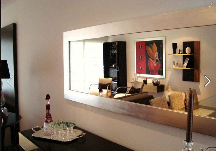 Espejo con marco en pan de plata p gina de fb living ya for Espejos biselados para comedor
