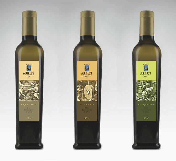prova etichetta per olio di oliva | Signaletic Design Studio