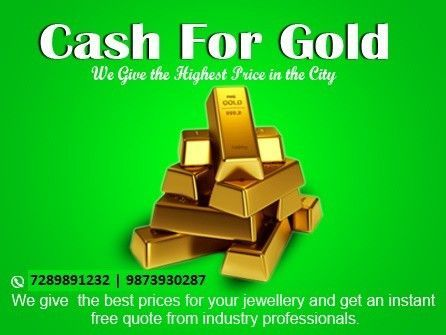 Today Gold Rate-30400/10 Gram (24 Karat)  http://wu.to/ED8tBp  Looking for instant cash for gold in Delhi or NCR Region? You have landed to an appropriate destination. Cash For Gold is the most trusted name in this industry as we are the pioneers of this industry by bringing the concept of selling cash for gold hand to hand.   http://wu.to/Y3StKt  http://wu.to/FomWgl  http://wu.to/i4BoGz  http://wu.to/NsjKXe #goldrate