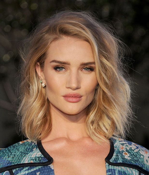 Rosie Huntington-Whiteley's Choppy Lob  The supermodel's choppy style may have just kicked off the lob trend. Her look proved that this modern take on layers was the way to go. It removed the weight of the hair and left an effortless, lived-in texture.