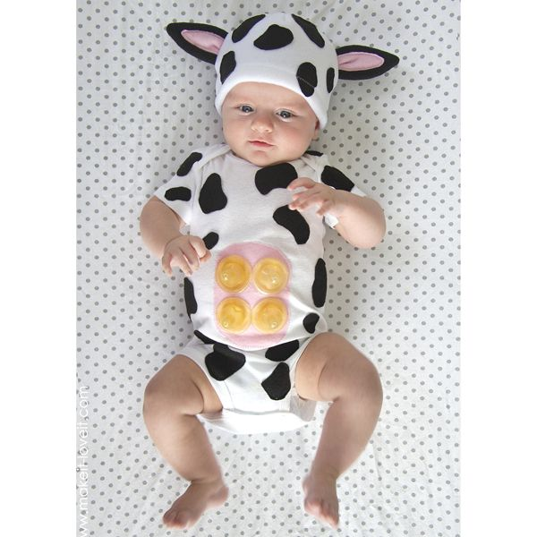 Baby Cow--so silly