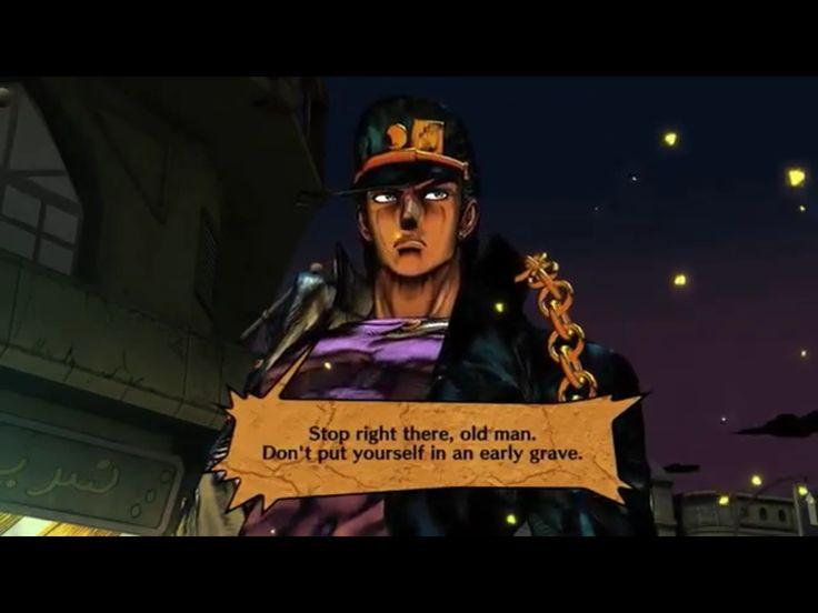 screenshot Jotaro Kujo of the videogame Jojo's All Star Battle