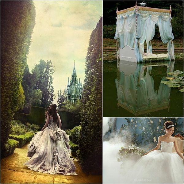 Love Wed Bliss Inspiration Board: Fantasy Wedding Theme