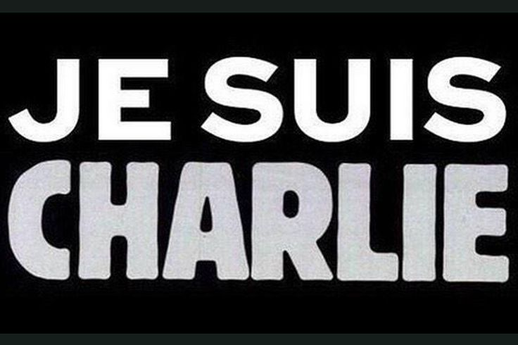 """The hashtag, meaning """"I am Charlie"""" has trended after the attack on the Charlie Hebdo offices in Paris"""