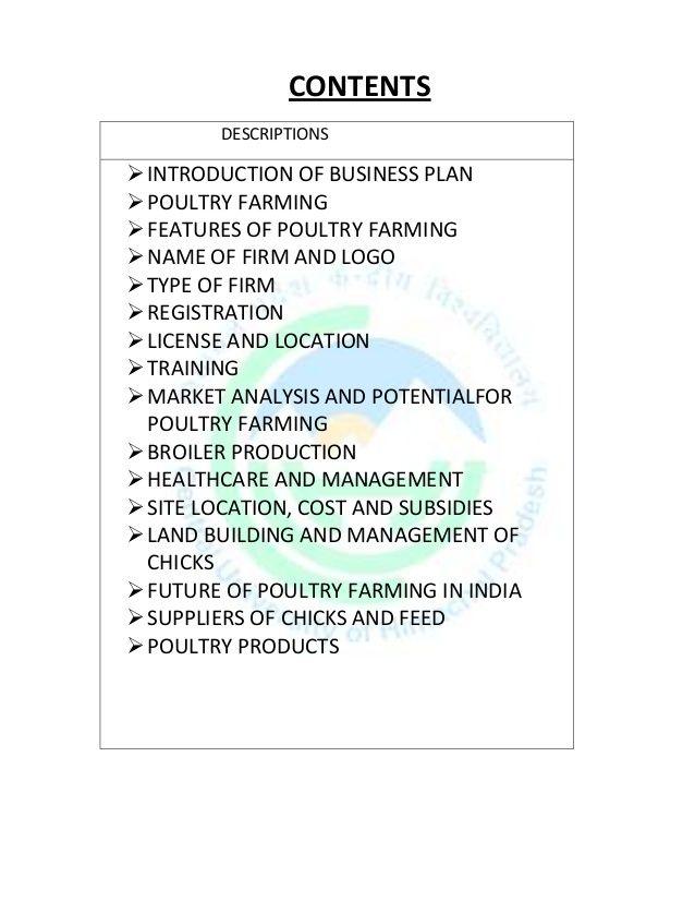 Mingcongbai Farm Business Plan Template 6fc66b7b Resumesample Resumefor Poultry Farm Poultry Business Plan Template