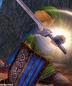 gif mine zelda link the legend of zelda impa midna E3 hyrule warriors I know I