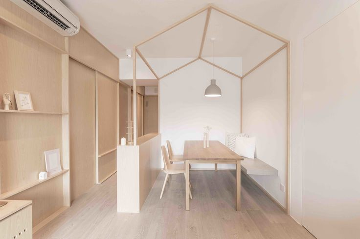 An Origami-Inspired Apartment in Hong Kong With Tons of Smart Storage - Dwell