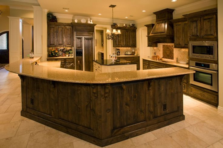 Round Counter Squared Cabinets Custom Home Builders Home Builders Custom Homes