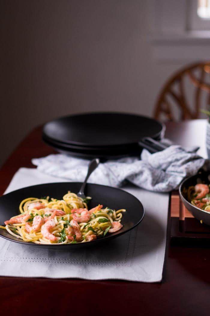 Keto Shrimp Scampi Recipe [Low Carb, Gluten Free] – KETOGASM