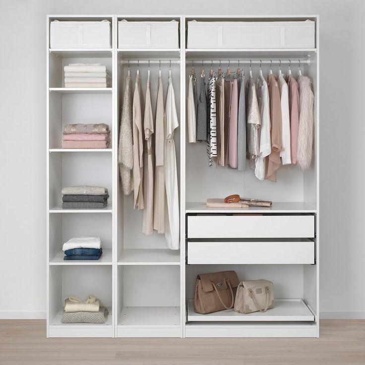 pax wardrobe white flisberget light beige 78 3 4x23 5 8x93 1 8